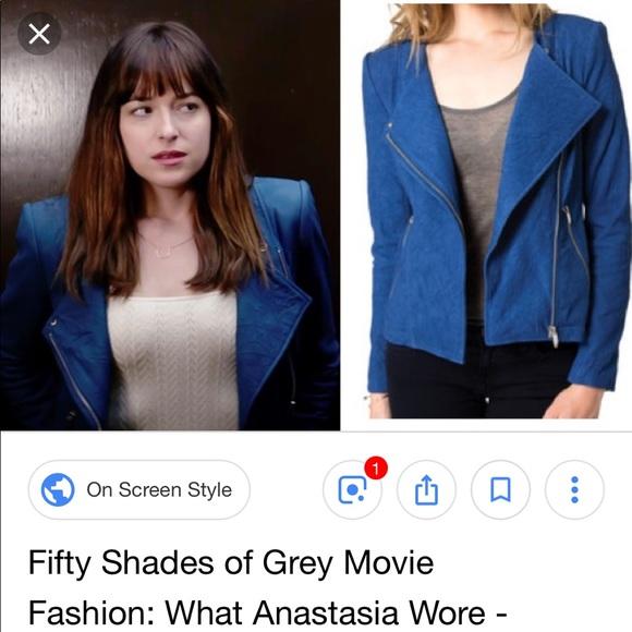 e9334690c6 Theyskens' Theory Jackets & Coats | Theyskens Theory Blue Leather ...